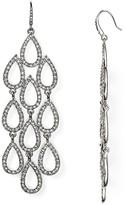 ABS by Allen Schwartz Pave Beach Chandelier Earrings