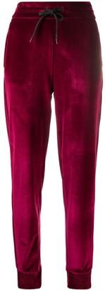 Versace Drawstring Velvet Track Pants