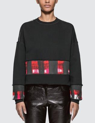 Alexander McQueen Shoulder Zipped Sweatshirt