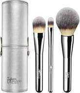 IT Brushes For ULTA Complexion Perfection Essentials 3 Pc Deluxe Brush Set