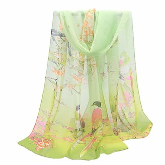 MAOIMOR free delivery womens jewellery chiffon ladies christmas clothes for women ladies earrings sale clearance gift for him hair scarf green neck scarf scarf hair wrap