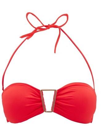 Melissa Odabash Barcelona Bandeau Bikini Top - Womens - Red