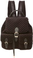 Juicy Couture Velour Fairmont Fairytale Buckle Backpack
