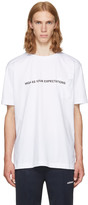 Palm Angels White high As Your Expectations T-shirt