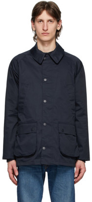 Barbour Navy Waterproof Bedale Jacket