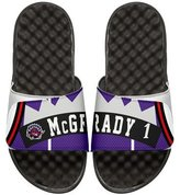 ISlide NBA Retro Legends Tracy McGrady 1 Jersey Slide Sandal, White