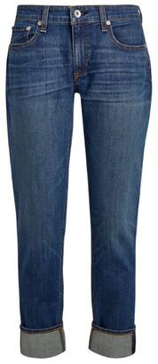 Rag & Bone Dre Low-Rise Skinny Boyfriend Jeans