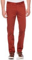 Perry Ellis Slim Fit Solid Sateen 5 Pocket Pant