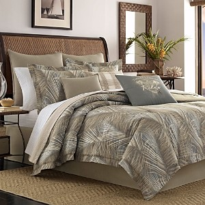 Tommy Bahama Raffia Palms Comforter Set, Queen