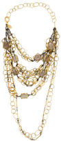 Erickson Beamon Multistrand Rutilated Quartz Necklace