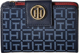 Tommy Hilfiger TH Serif Signature - Medium Snap Flap Wallet