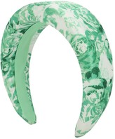 Ganni Printed Nylon Headband