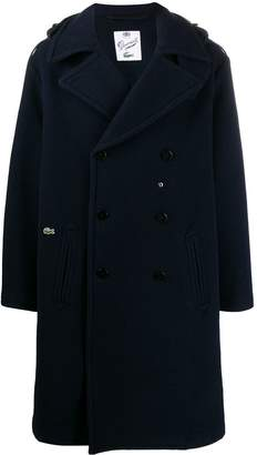 Lacoste hooded oversize trenchcoat