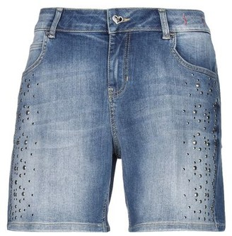 MY TWIN TWINSET Denim bermudas