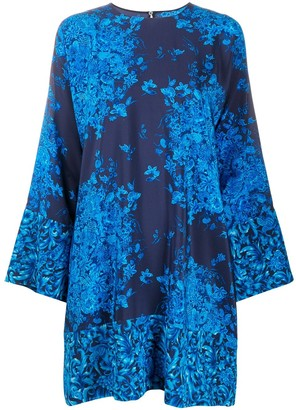 Valentino Bluegrace Composition mini dress