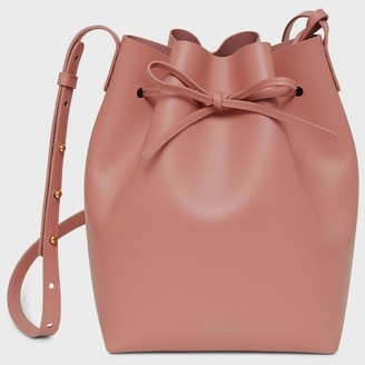 Mansur Gavriel Calf Bucket Bag - Blush
