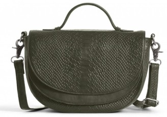 Day & Mood Brandi Top Handle Croc Embossed Leather Crossbody Bag
