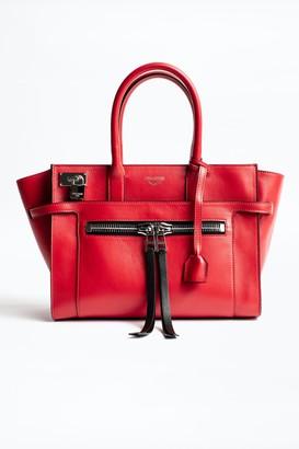 Zadig & Voltaire Candide Medium Zip Bag