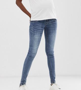 Mama Licious Mamalicious skinny jeans with bump band