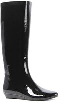 Jeffrey Campbell The Voom Rain Boot in Black