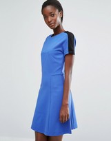 French Connection Lula Stretch Flared Dress