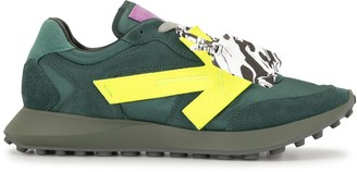 Off-White Arrows suede sneakers