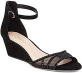 Vince Camuto Imagine Joan Glitter Mesh Wedge Sandals