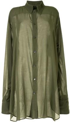 Ann Demeulemeester Tiriel oversized shirt