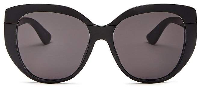 Christian Dior Women's Soft 2 Oversized Round Sunglasses, 55mm