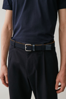 Cos Textured Elastic Belt