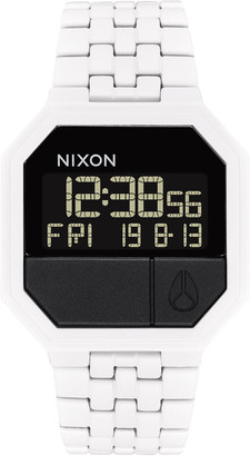 Nixon Re-Run White Watch