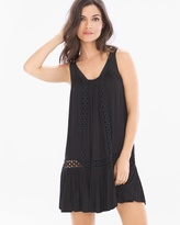 Soma Intimates Spaghetti Strap Crochet Coverup Dress