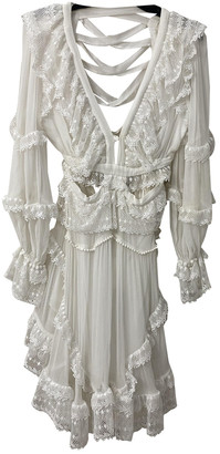Zimmermann White Lace Dresses