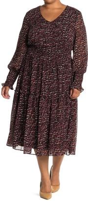 Taylor Floral V-Neck Dress
