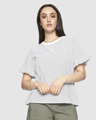 Ids Remy Ruffle Top