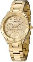 Stuhrling Original Women's 549.03 Symphony Regent Gala Quartz Day and Date Tone Bracelet Watch
