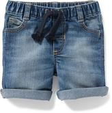Old Navy Rolled-Cuff Denim Shorts for Baby