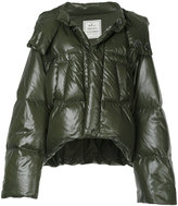 Miharayasuhiro padded oversized and cropped jacket