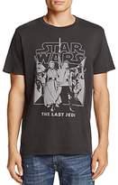 Junk Food Clothing Last Jedi Crewneck Short Sleeve Tee