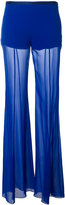 Alberta Ferretti flared trousers - women - Silk/Acetate/other fibers - 40
