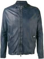 Giorgio Brato high neck leather jacket