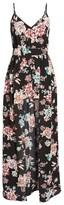 BP Women's Floral Print Maxi Romper