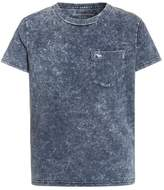 Abercrombie & Fitch DYE EFFECTS Print Tshirt navy