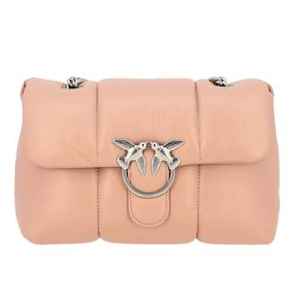 Pinko Shoulder Bag In Padded Leather