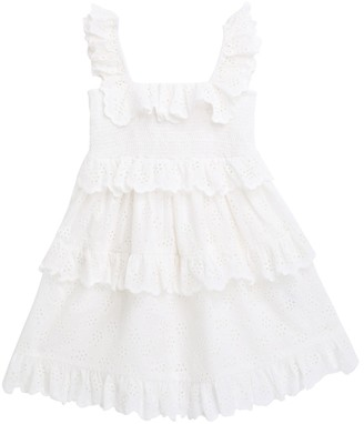 Zimmermann Bellitude Ruffle Tiered Dress