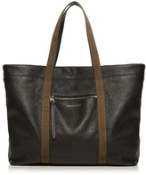 Alexander Mcqueen Contrast-strap Leather Tote
