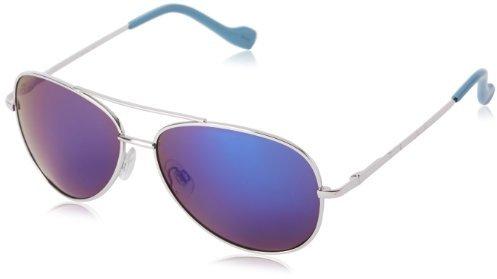 Jessica Simpson Women's J402 SLVBL Aviator Sunglasses