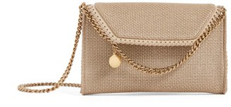 Stella McCartney Mini Falabella Woven Cross-Body Bag