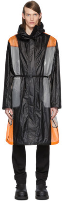 MONCLER GENIUS 6 Moncler 1017 ALYX 9SM Black and Orange Colorblock Cosmos Jacket