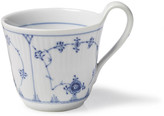 Royal Copenhagen Blue Plain High Handle Mug - 11 Oz
